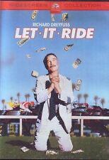 LET IT RIDE – RICHARD DREYFUSS - David Johansen, Teri Garr ALL REG SEALED DVD