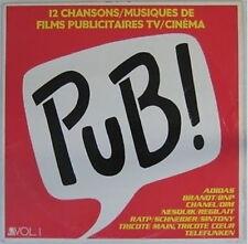 Musiques de Pub TV et Cinéma 33 tours 1984