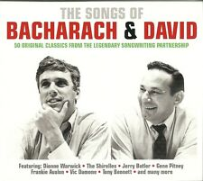 THE SONGS OF BACHARACH & DAVID - 2 CD BOX SET - DIONNE WARWICK & MORE