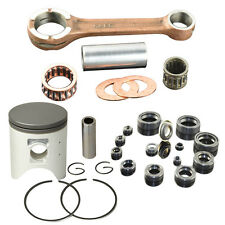 Connecting Rod Piston Rings Complete Seal Kit For Honda CRM250AR 250cc STD 66.4