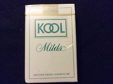 KOOL MILDS CIGARETTE PLAYING CARDS NEW WITH SEALED PLASTIC