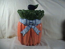 Fitz And Floyd Carrot Canister Lettuce And Egg Plant Top