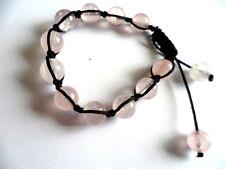 Quartz Rose de guérison cristal Shamballa bracelet-love, romance. reiki