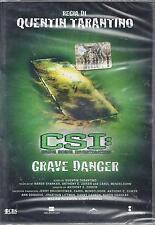 Dvd **CSI: GRAVE DANGER** di Quentin Tarantino nuovo sigillato 2005