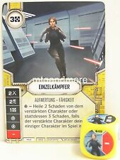 Star Wars Destiny - 1x #049 Einzelkämpfer + Würfel - Y - Geist PREORDER