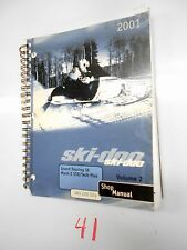 2001 SKI-DOO SNOWMOBILE VOLUME 2 484 200 024 SHOP MANUAL GRAND TOURING MACH Z