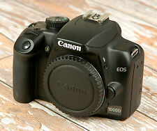 Lovely CLEAN Canon EOS1000D Digital SLR with charger battery