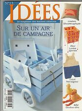 Idées Magazine N°13 Avril 2000 Couture broderie tricot décoration