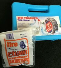 NEW USA Snow Tire Chains WITH Adjusters P255/50-17 car                         2