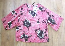 BNWT Boden Square Tee Top UK 12 EU 38 US 8 Pink
