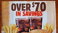 YUMMY Burger KING Coupons OVER $70 Savings WHOPPERS Nuggets BURGERS Meals FRIES*