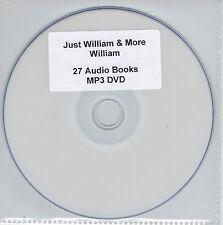 Just William & More William - 27 Audio Books MP3 DVD