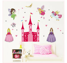 The Princess Castle disney Wall Sticker Home Decals Wall Decor Kids room decor