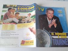 Sorrisi Canzoni TV_2000_n.16_CLAUDIO BAGLIONI_diario di Viaggio_AL PACINO_AQUA