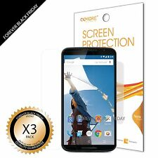 Motorola Google Nexus 6 Screen Protector 3x Anti-Glare Matte Cover Guard Film