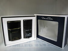 POUR LUI OSCAR DE LA RENTA 2 Pieces Set: 3.0 EDT Spray + 2.6 oz Deodorant Stick