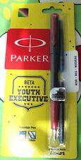 Parker Beta Fountain pen youth executive edition gift new uses vector nib