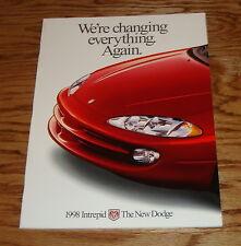 Original 1998 Dodge Intrepid Deluxe Sales Brochure 98
