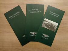Bentley Azure Owners Leaflets X3 Handbook/Manual