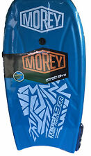 BLUE MOREY MACH 9TR  TUBE RAIL BOOGIE BODY BOARD 2016 DESIGN SURF BEACH NEW