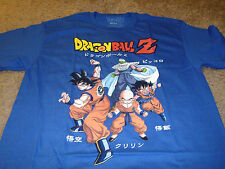 Dragon Ball Z Mens Blue T-Shirt Size Medium M