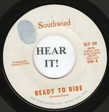 Southwind 70s COUNTRY ROCK 45-Blue Thumb 108-Ready to Ride/Green Hills of Earth