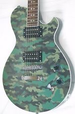 Michael Kelly Patriot Blake Shelton L.P. Style Electric Guitar -Camo BLEM *B0108