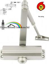 10 X ADJUSTABLE STEEL OVERHEAD DOOR CLOSER POWER SIZE 3 - 1hr FIRE RATED