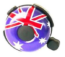 BELL Bicycle Aussie Flag Australian Flag Alloy Ringer type Bike Bell Australia
