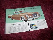 Prospectus /  Brochure STUDEBAKER Golden  Hawk 1958 USA //