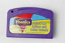 Leap Frog LeapPad I KNOW MY LETTER & LETTER SOUNDS Cartridge ONLY