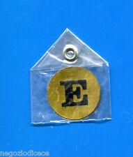 """KICA - Sorprese Decalcomania Figurina-Sticker anni 60 - LETTERA """"E"""" TONDA"""