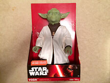 "18"" YODA FIGURE WITH LIGHTSABER - JAKKS PACIFIC 2015 - BRAND NEW IN BOX"