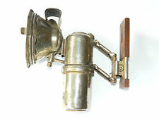 Antique Herm.Riemann PFADFINDER GAS LAMP Adjustable Light, Germany ca.1900s