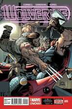 WOLVERINE #5 1ST PRINTING ALL-NEW MARVEL NOW! PAUL CORNELL LEAD UP TO DEATH OF