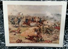 Sheridan's Final Charge at Winchester, September 19, 1864. Copyright 1886