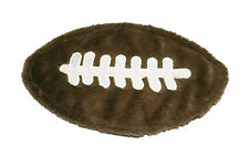 Crown Crafts - Football  Plush Security Blanket