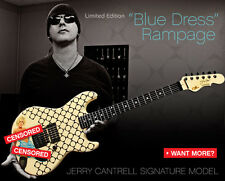 Jerry Cantrell Blue Dress G&L Rampage signature guitar Alice In Chains RARE!