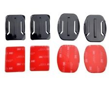 4 Sets Flat & Curved Surface Mount +VHB Adhesive Pads for GoPro HERO 1/2/3/3+/4