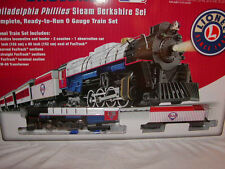 Lionel 7-12004 Philadelphia Phillies Ready to Run Passenger Steam Train Set O-27