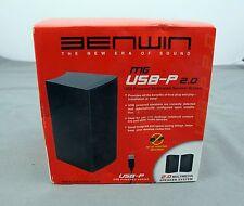 Benwin MG USB-P 2.0 USB Powered Speakers Brand New ( 1 Pair )