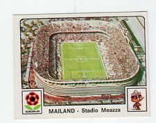 figurina GERMANIA FUSSBALL 80 PANINI NEW NUMERO 308 MAILAND STADIO MEAZZA