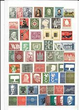 GERMANY- A NUMBER OF 'BIT BETTER' UNUSED STAMPS ( 1949-1960 )