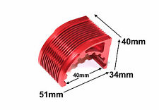 CNC Aluminum Alloy (T6061) 40mm Inrunner Motor Heat Sink, Blue, US TH037-04801R