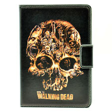 The Walking Dead Leather Zombie Skull Stand Case Smart Cover For ipad Mini 1/2/3