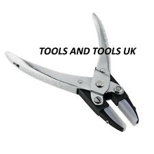 "PARALLEL ACTION FLAT NOSE NYLON JAW PLIERS 5-1/2"" JEWELRY CRAFTS WITH EXTRA JAWS"