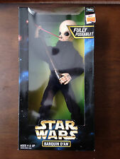 """STAR WARS BARQUIN D'AN 12"""" ACTION FIGURE POTF NEW IN BOX MAX REBO BAND KENNER"""