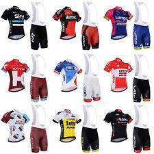 2016 Bici Ropa Equipacion Ciclista Ciclismo Maillot+Culotte Pantalones Conjunto