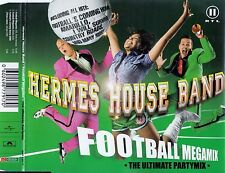 HERMES HOUSE BAND : FOOTBALL MEGAMIX - THE ULTIMATE PARTYMIX / 3 TRACK-CD