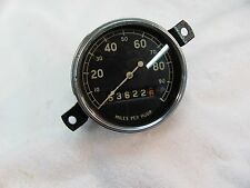 1932 Ford Speedometer AC model 100 mph Used condition curved gla